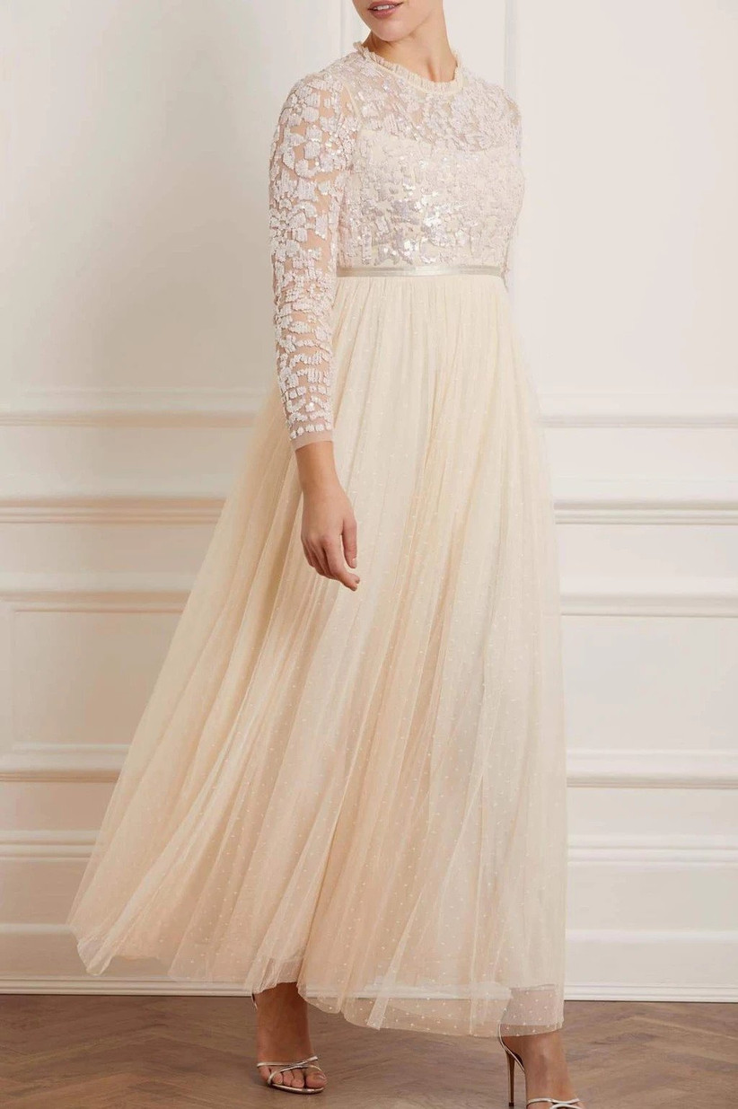 Long bridesmaids dress