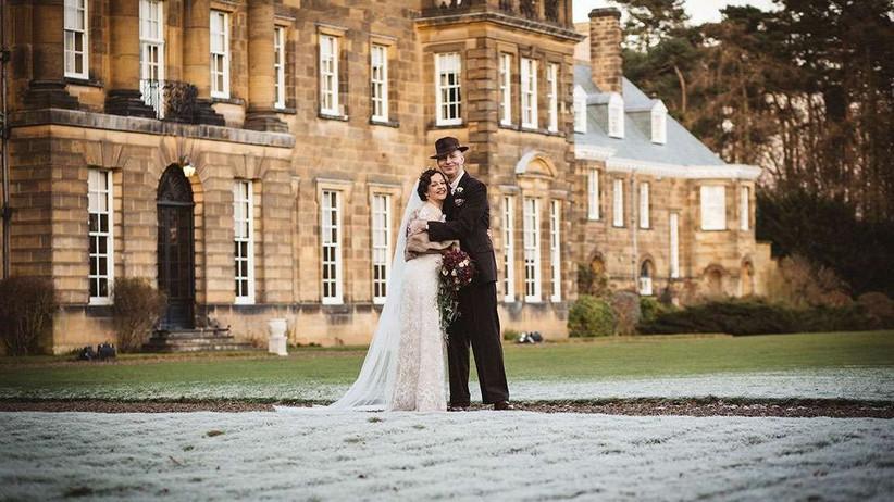 Winter wedding Crathorne