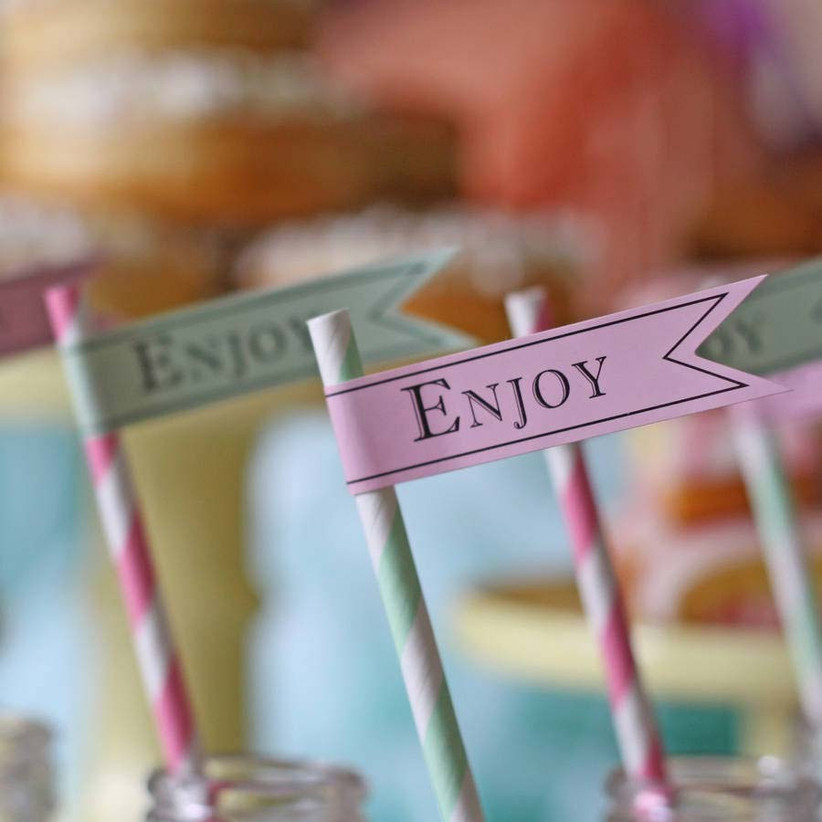 decorate-stripy-straws-at-your-beach-theme-wedding-with-these-paper-flags-from-not-on-the-high-street
