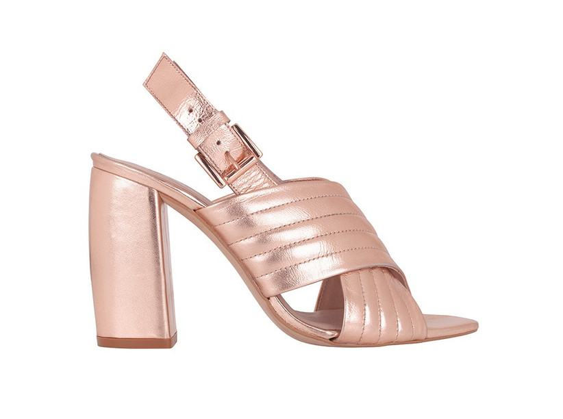 rose-gold-leather-shoes