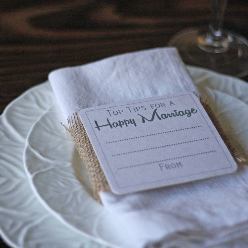 Guest book coasters