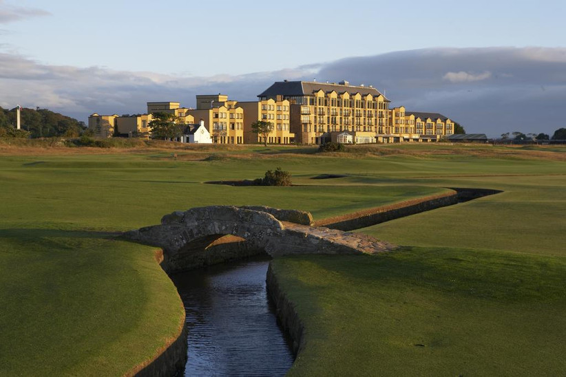 Exterior of the old course hotel and golf course
