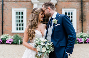 A Classic and Elegant Marquee Wedding at Hutton Hall in Essex with a Hayley Paige Gown