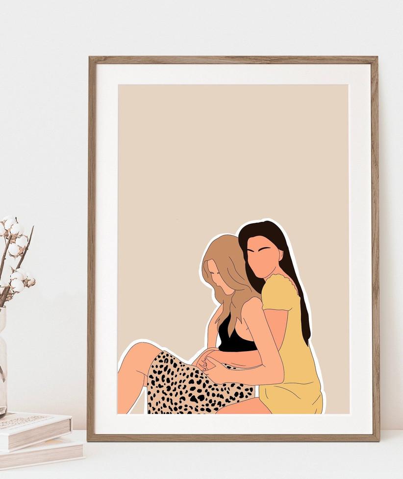 couples print