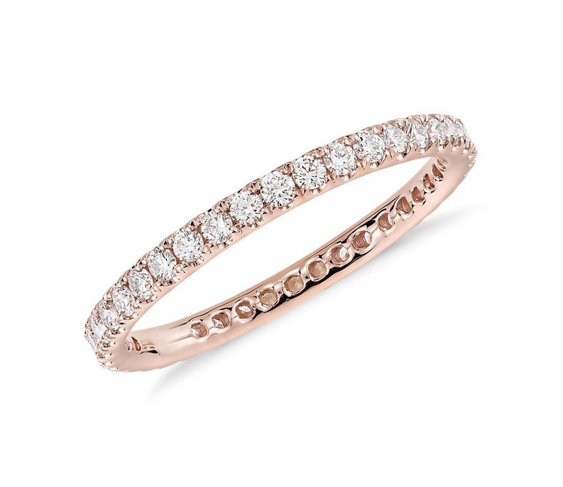 Riviera Rose Gold Ring