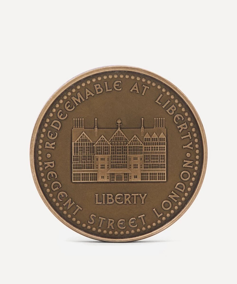 Подарочная монета Liberty London