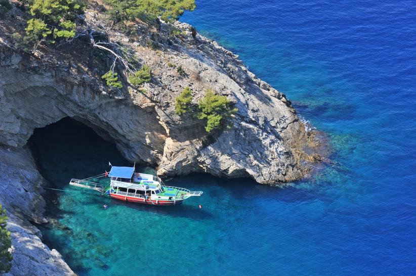 Gulet boat in Turkey