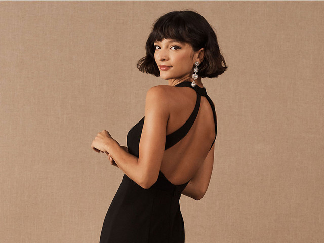 23 Chic Black Wedding Dresses for Non-Traditional Brides