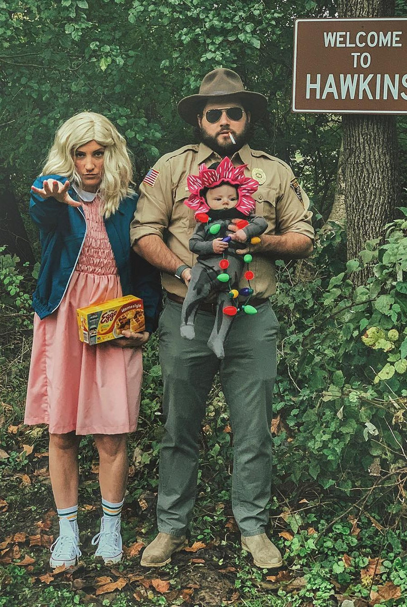 Couples Halloween Costumes Stranger Things