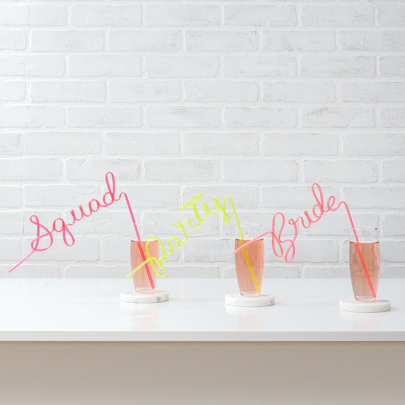 Silly straws for a hen do