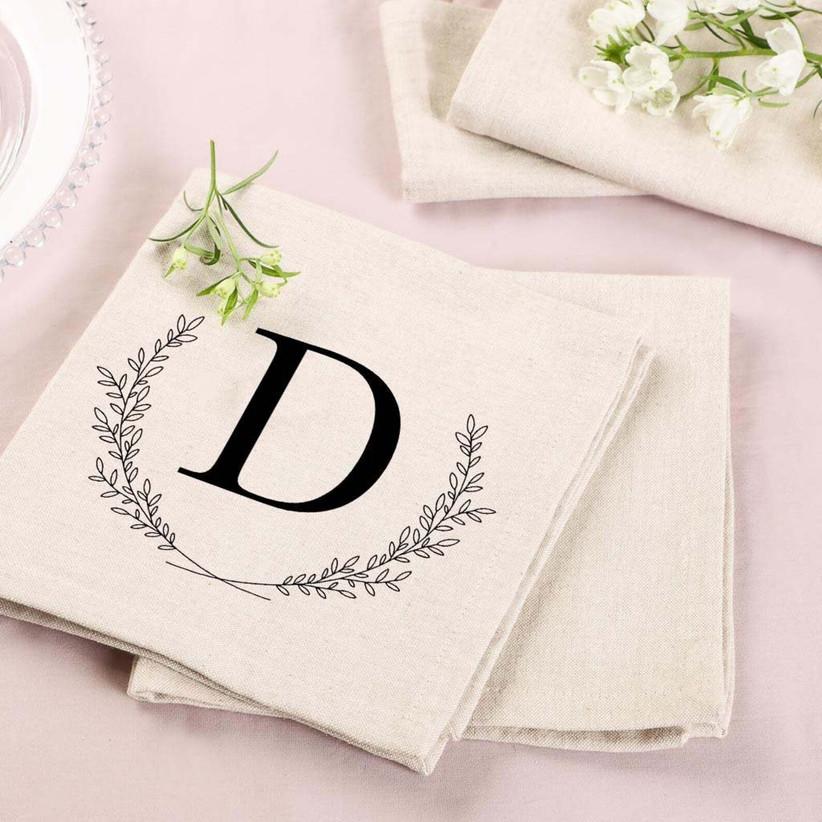 Cotton Napkins - 2nd Wedding Anniversary Gifts