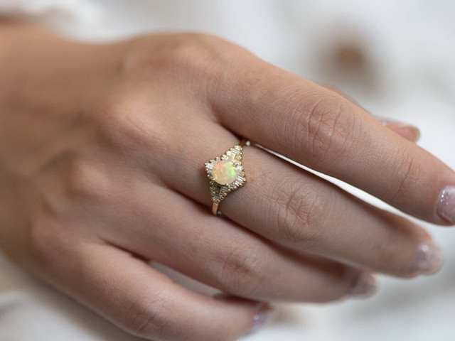 The Best Opal Engagement Rings: 26 Dreamy Designs for Modern Brides