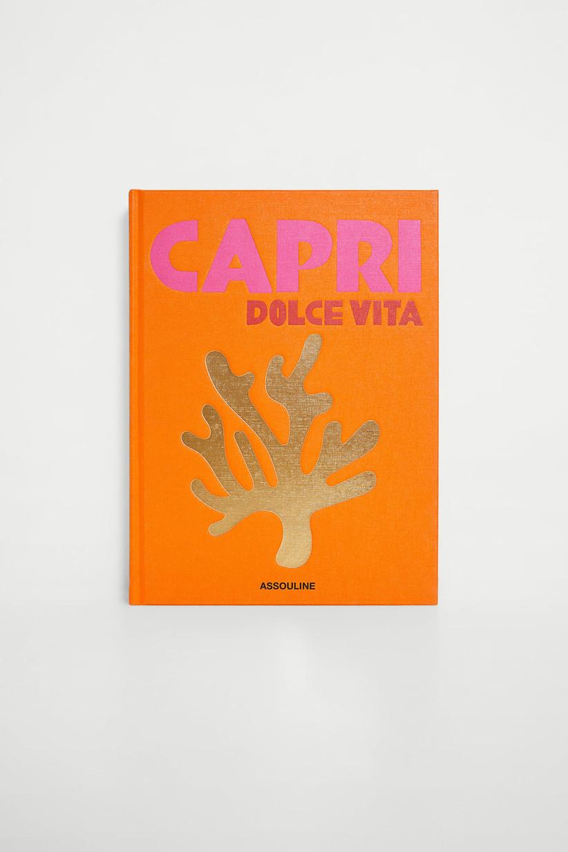 capri coffee table book