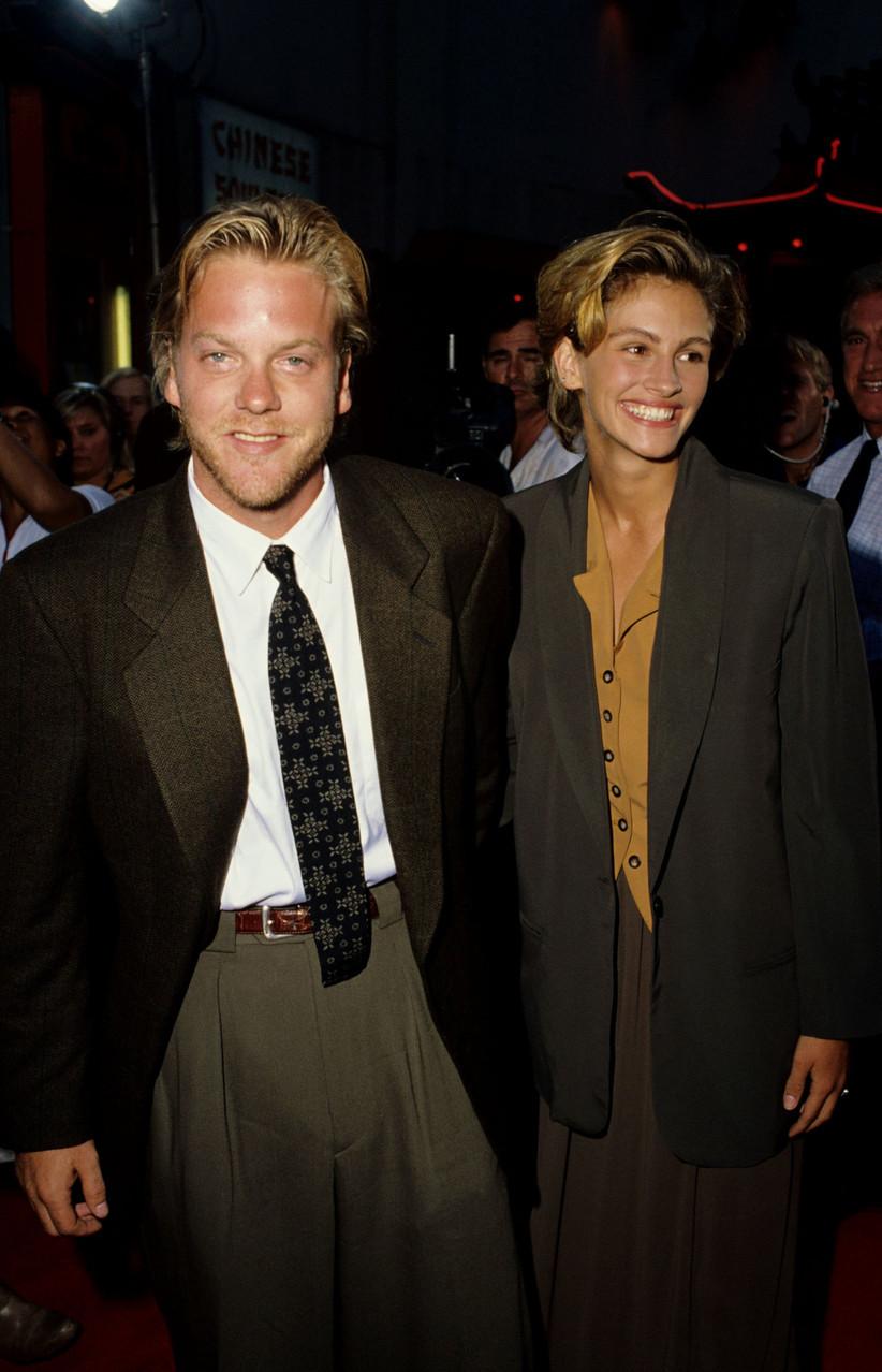 Julia Roberts and Kiefer Sutherland