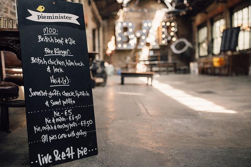 pieminister-menu-board
