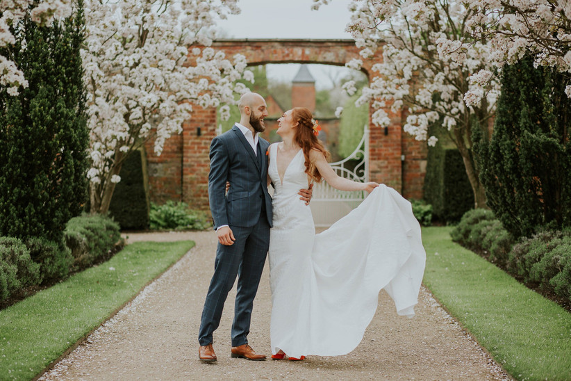Helen and Sam - Combermere Abbey Wedding