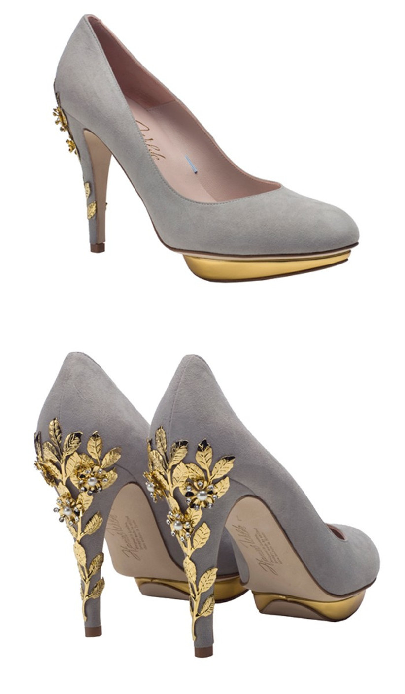 wedding-shoes-with-gold-leaf-detail