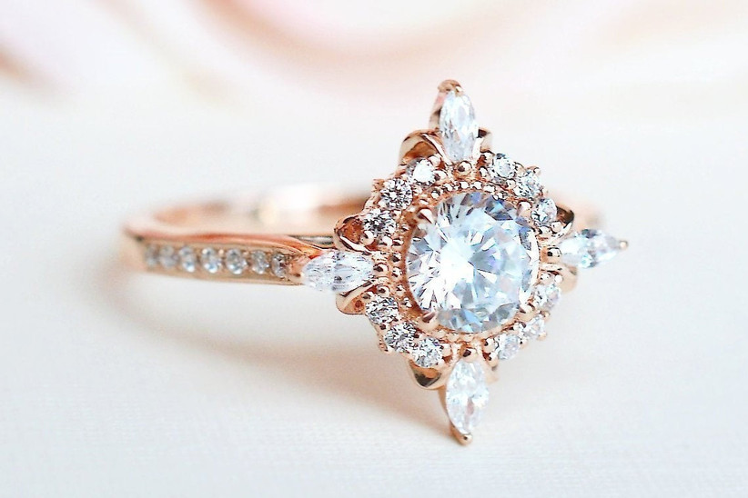16 Art Deco Engagement Rings For Every Type Of Bride Hitched Co Uk
