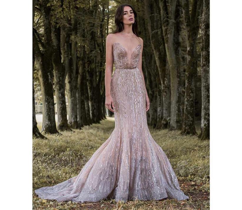 gold-glitzy-fishtail-wedding-dress-by-paolo-sebastian