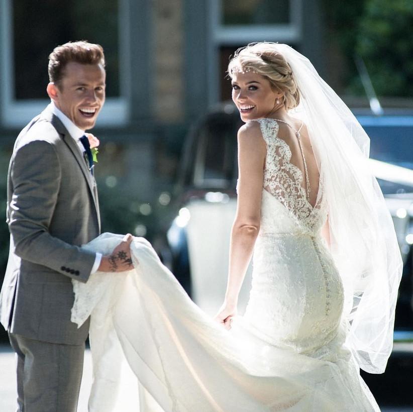 Danny Jones wedding