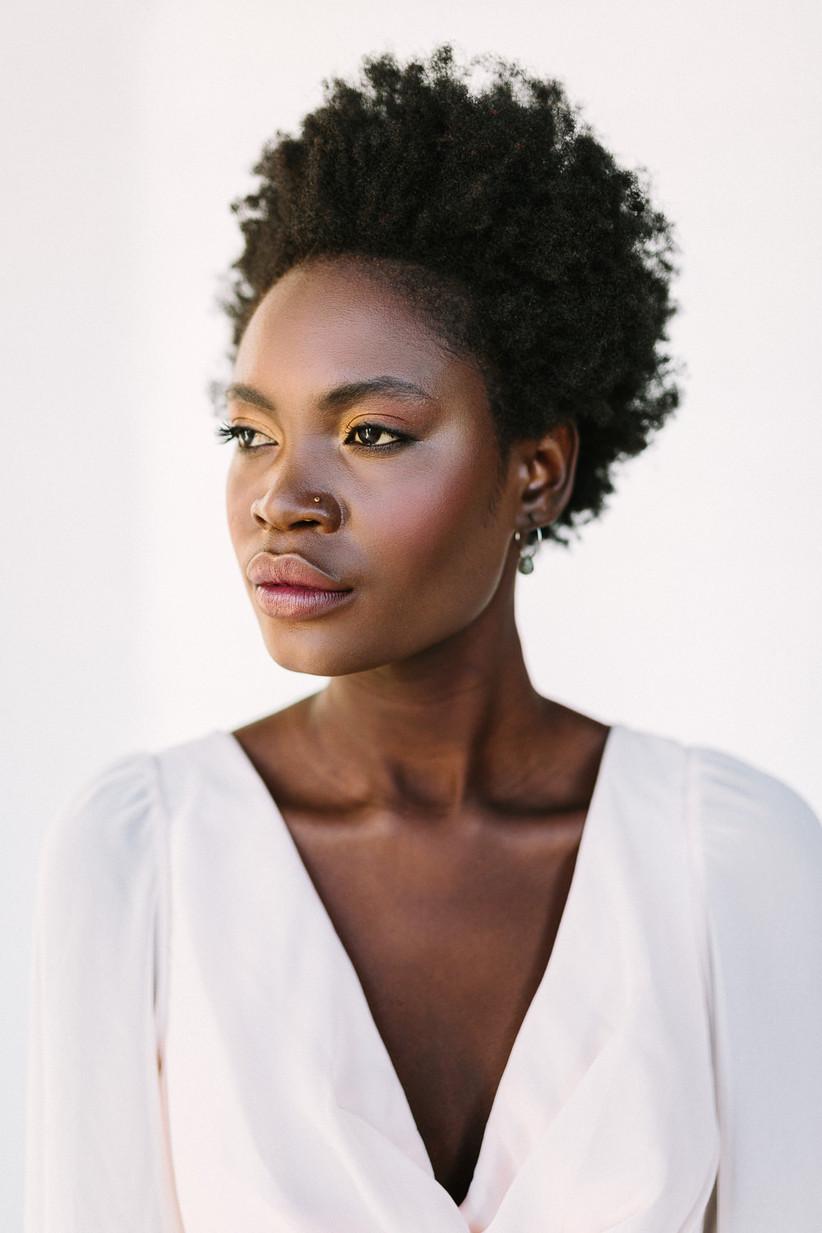 Wedding makeup ideas for Black brides 3
