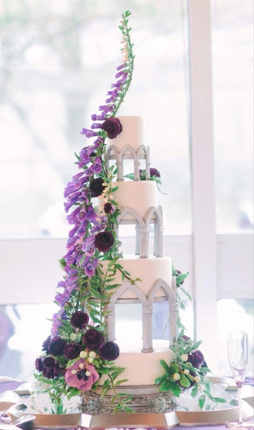 tangled-inspired-disney-wedding-cake