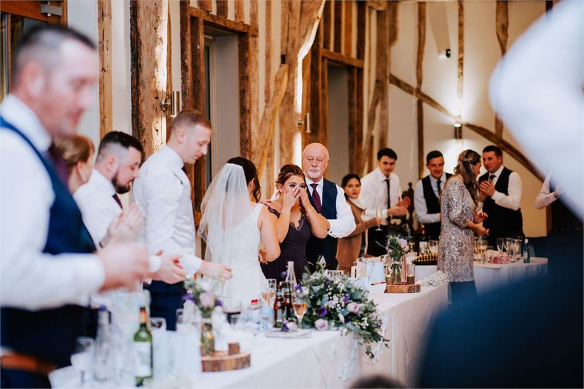 Sally Rawlins Photography - father of the bride speech