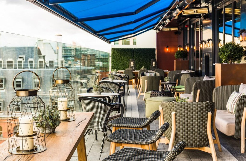 The South Terrace at Manchester wedding venue King Street Townhouse