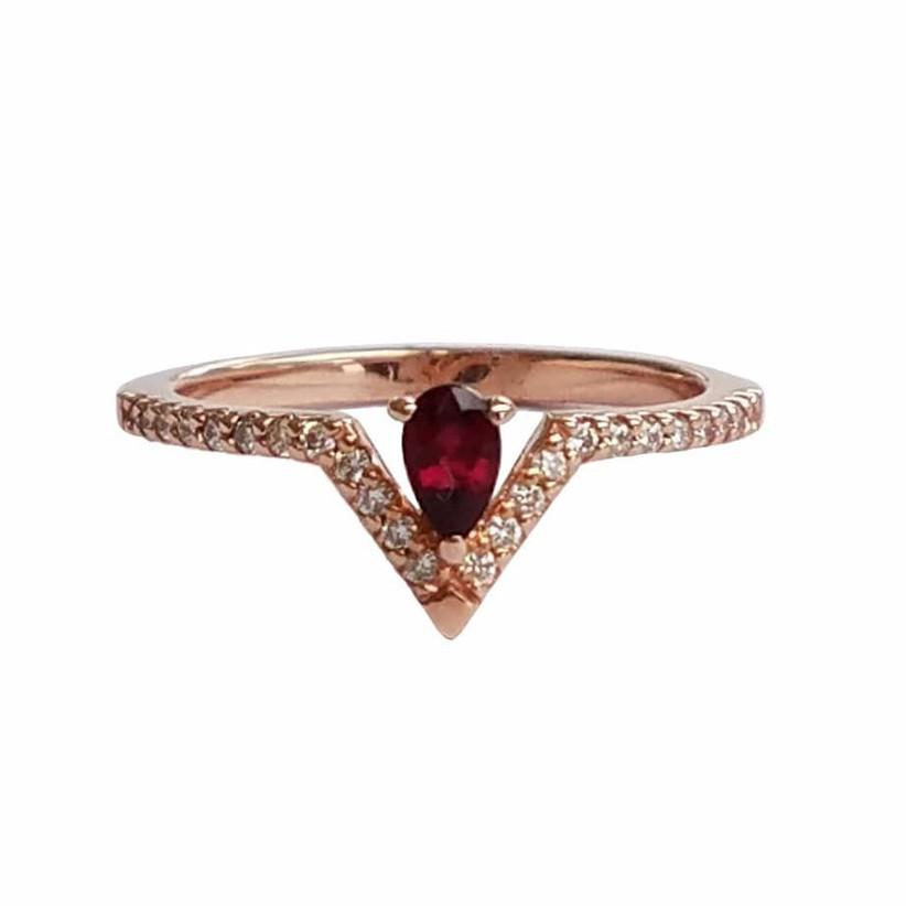 wedding anniversary stones - ruby