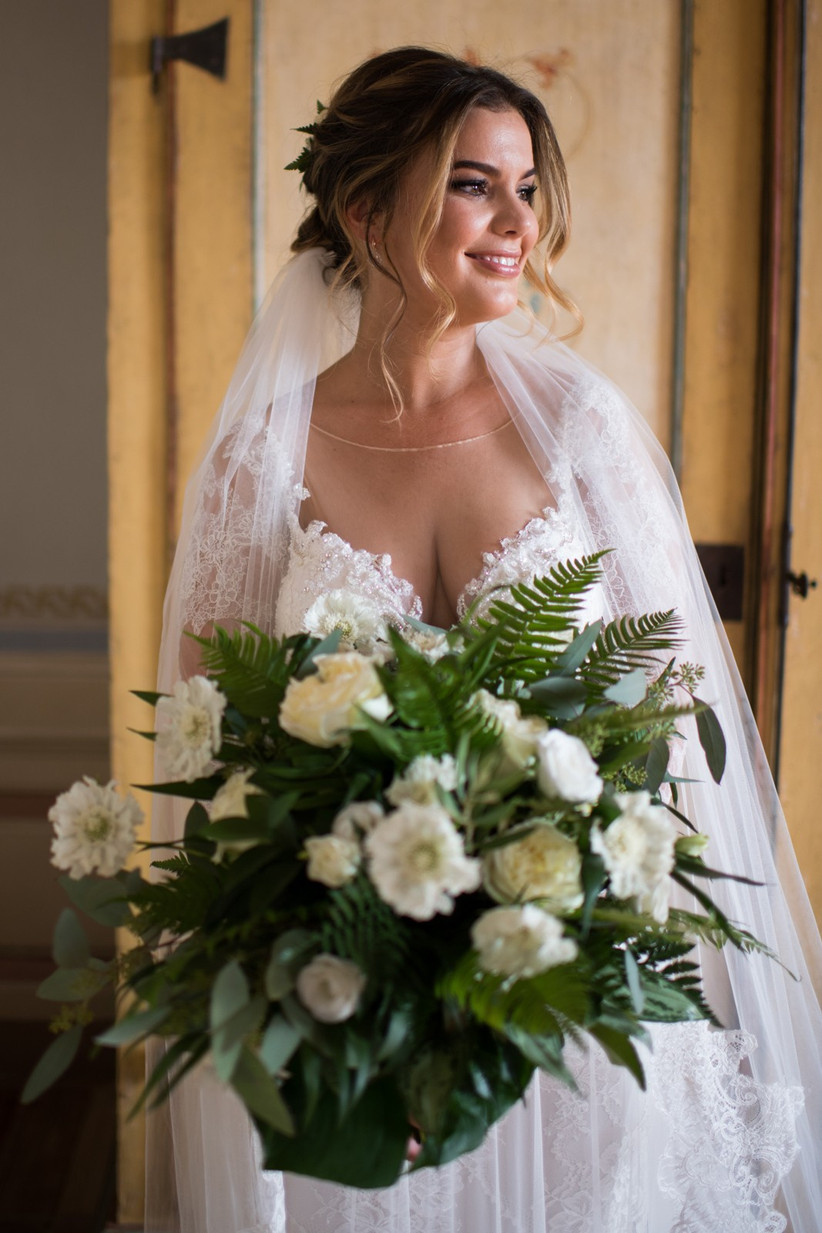 Italy Real Wedding - Kate and Tom