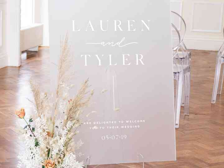 19 Chic Wedding Welcome Sign Ideas