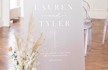 50 Beautiful Wedding Welcome Signs Your Guests Will Remember