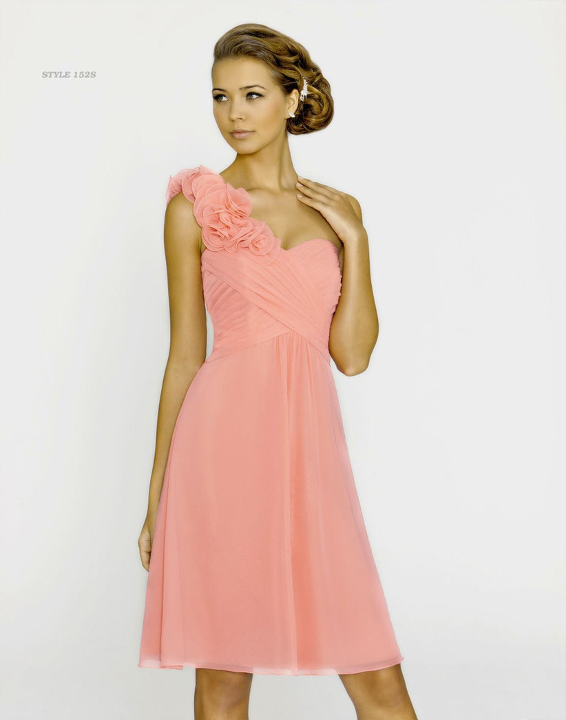 this-pretty-pink-one-shoulder-bridesmaid-dress-from-alexia-designs-is-a-romantic-style-for-your-bridesmaids
