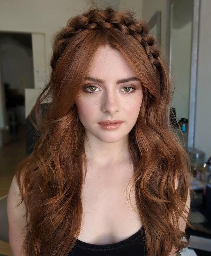 Bridesmaids hairstyles 9