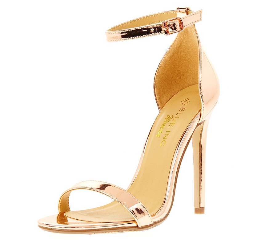 rose-gold-strappy-shoes