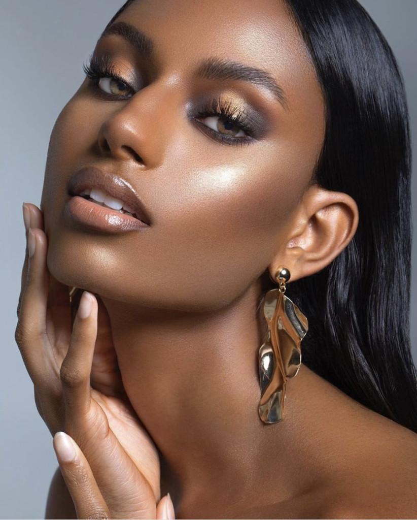 Wedding makeup ideas for Black brides 8