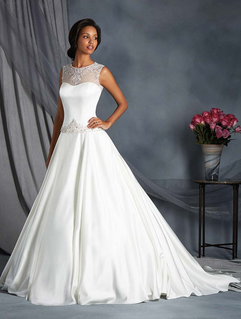 drop-waist-wedding-dress