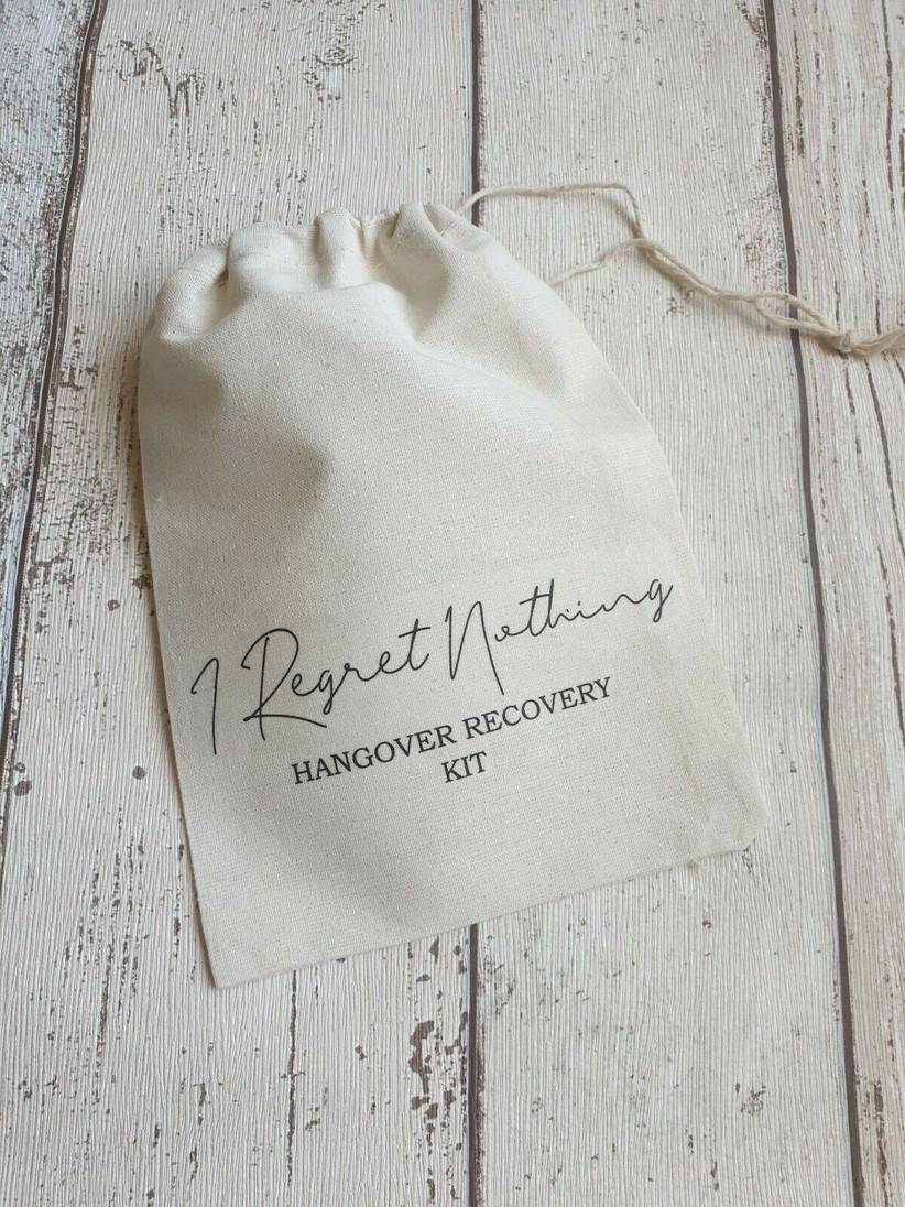 White bag hangover recovery kit