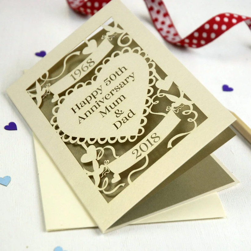 50th Wedding Anniversary Gift Ideas For A Golden Celebration Hitched Co Uk