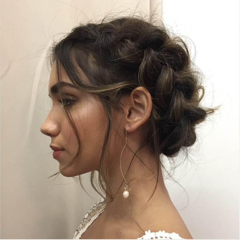 Wedding hair updo ideas 7