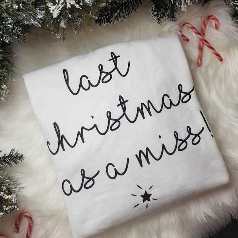 Last Christmas as a miss