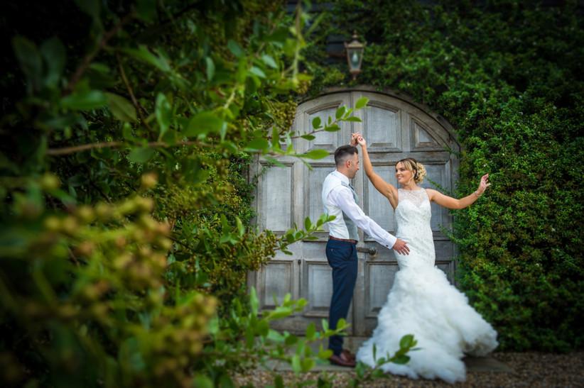 Vicky and Scott - Winters Barns Wedding
