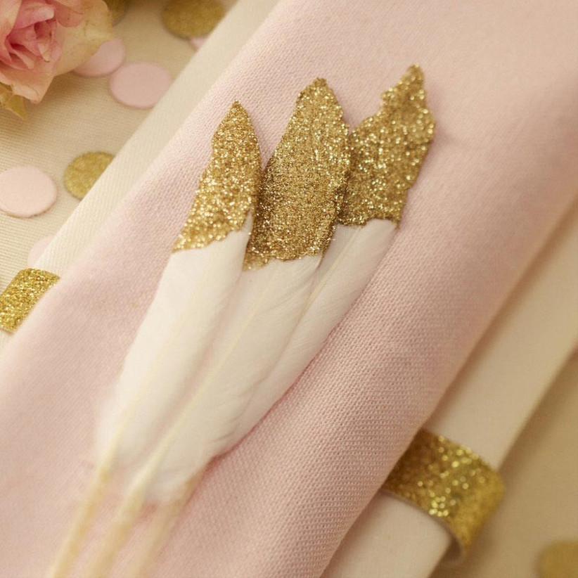 glitter-feathers
