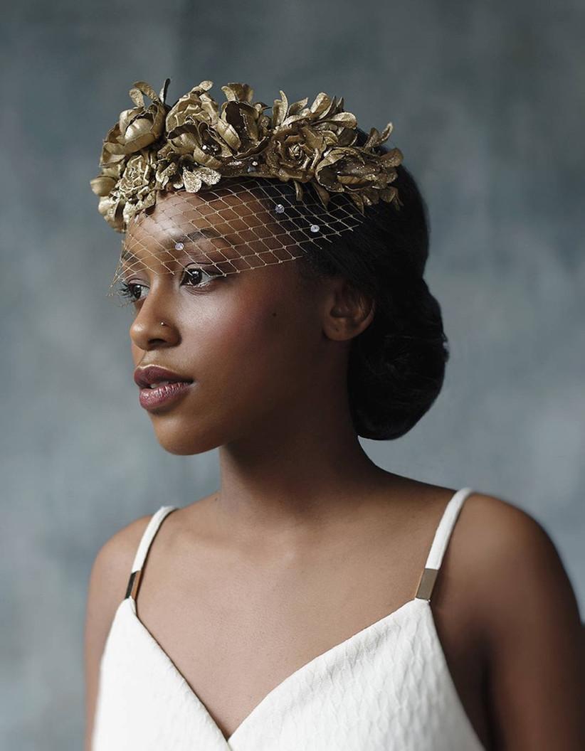 Wedding makeup ideas for Black brides 13