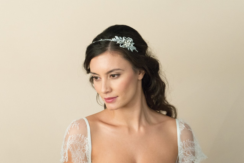 Ivory and Co Delphi side tiara