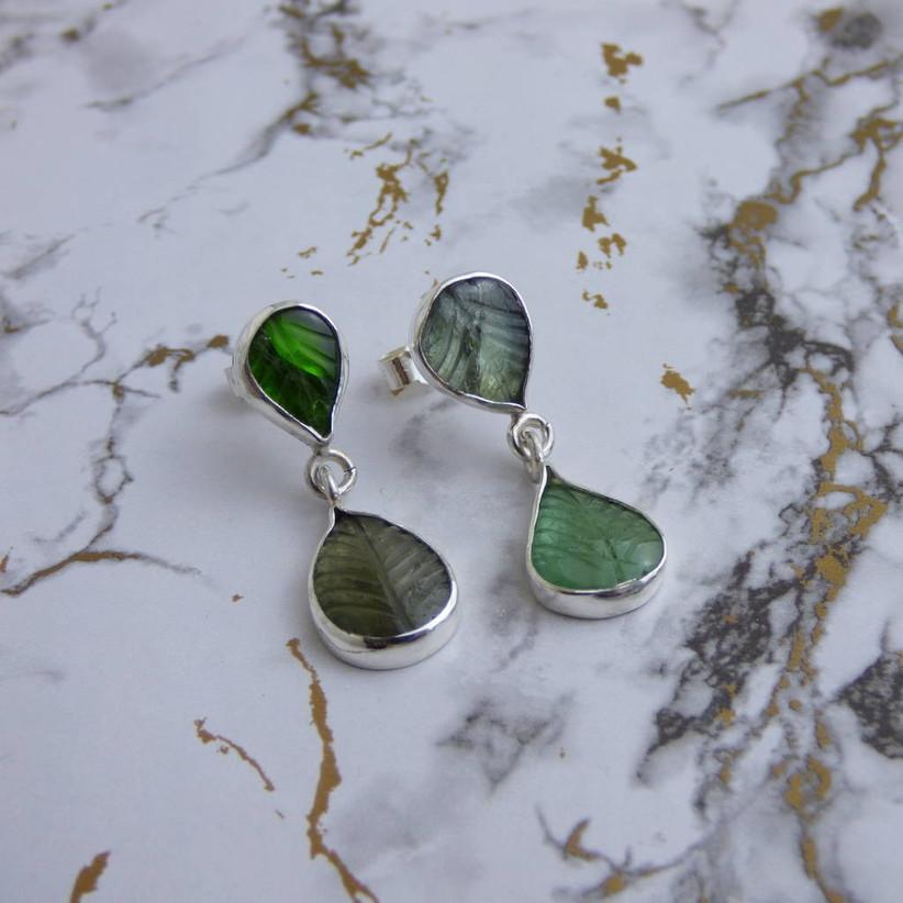 wedding anniversary stones - green tourmaline