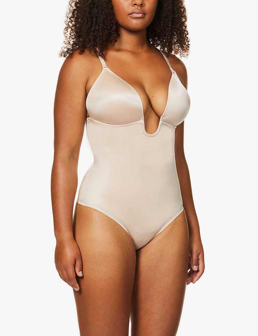 Spanx Suit Your Fancy Stretch Jersey Thong Body