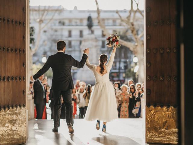 A Luxury Wedding Planner's Stunning Black Tie Palace Reception in Seville