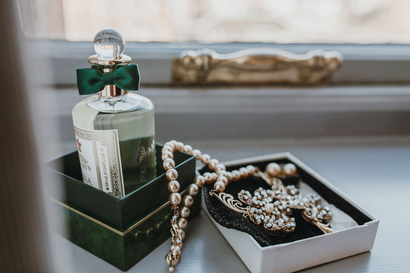 Michelle's jewellery and perfume