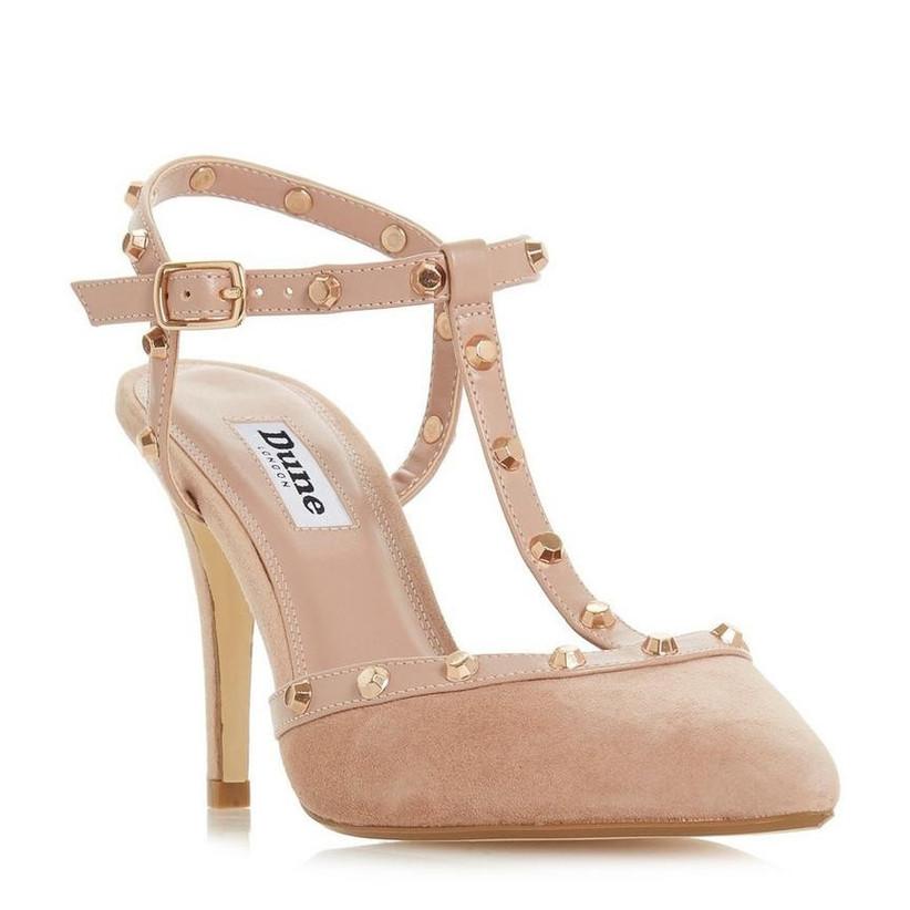 Studded bridesmaid shoe